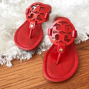Tory Burch Miller in Red sz 5.5 - Woman's